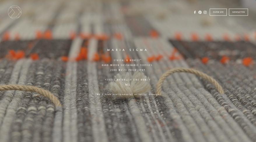 Maria Sigma Woven Textiles