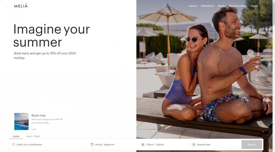 MELIA HOTELS INTERNATIONAL - MELIA - GRAN MELIA - SOL - ME - PARADISUS - INNSIDE - TRYP - OFFERS - ACCOMMODATION