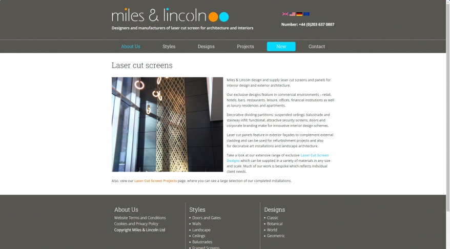 Miles and Lincoln Ltd