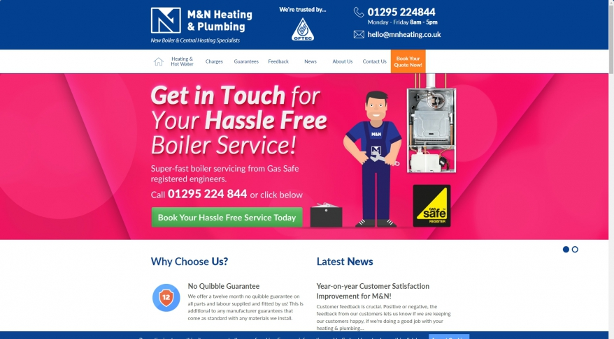 M & N Heating & Plumbing