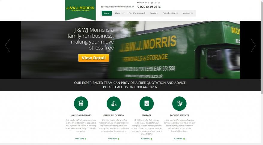 J & W J Morris Removals & Storage