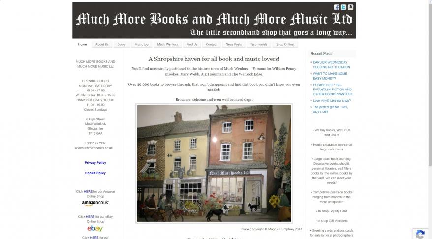 Much More Books Ltd