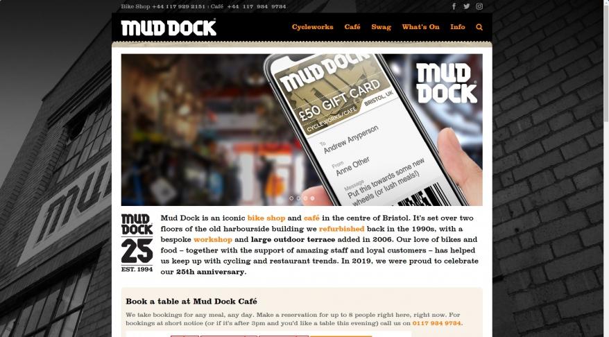Mud Dock Cafe & Cycleworks
