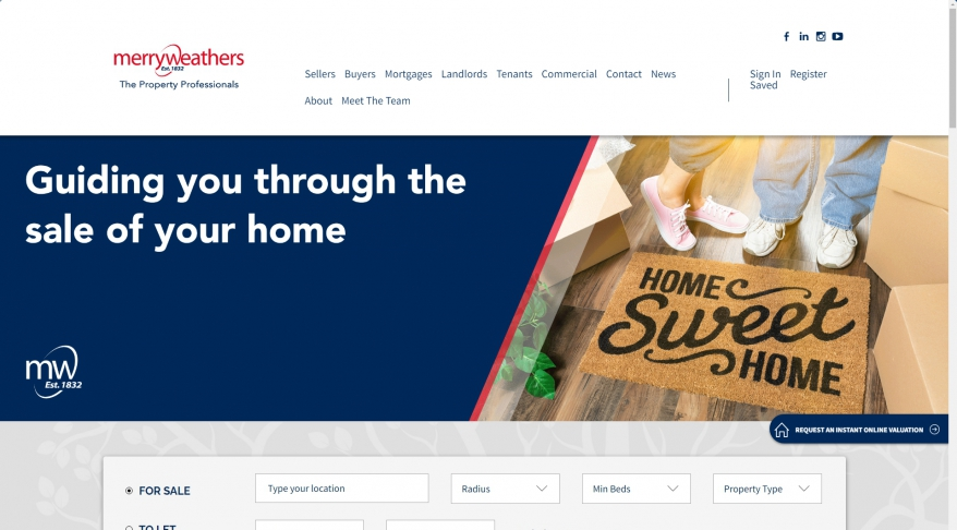Online Estate Agents netmyhouse - Online house sales