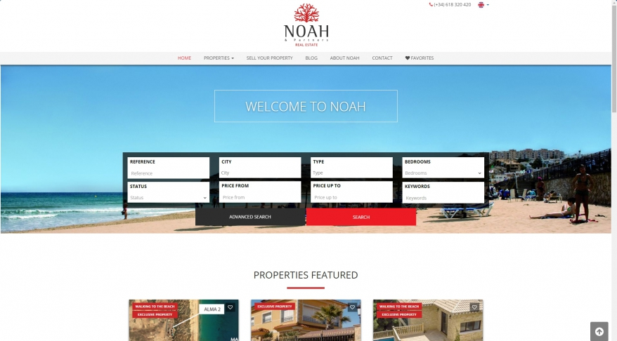 NOAH & Partners Real Estate, SunCountryHouseinSpain