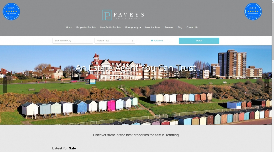 Pavey\'s Estate Agents | Estate Agent Frinton | Frinton-on-sea