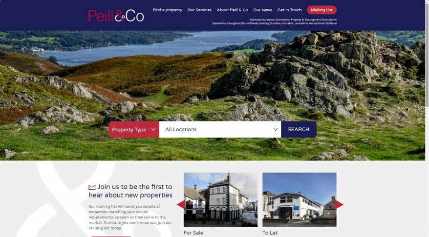 Peill and Co - Commercial Estate Agents, Chartered Surveyors, Cumbria, Lancashire