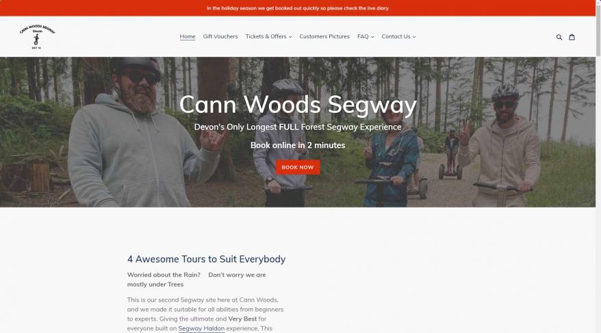 Segway Plymouth | Cann Woods | Devon\'s Best Segway Off-Road Fun