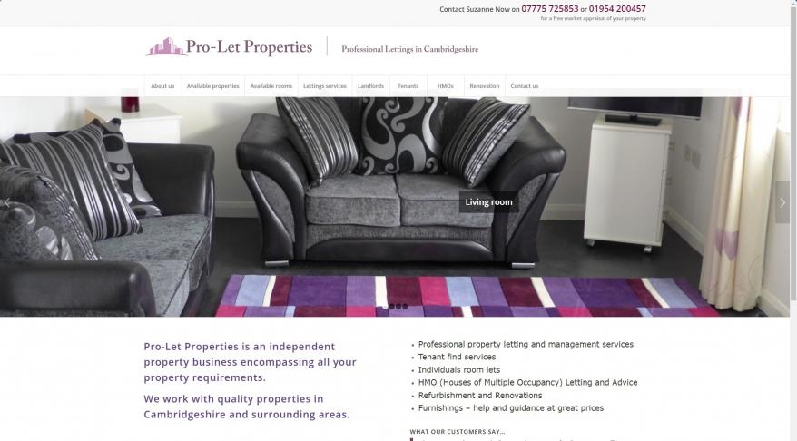 Pro Let Properties , Fen Drayton