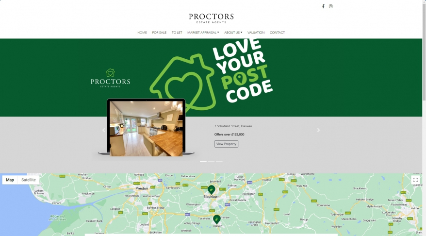 Proctors Estate Agents & Lettings | Home | Estate Agents in Darwen & Blackburn | Residential Sales and Letting Agents