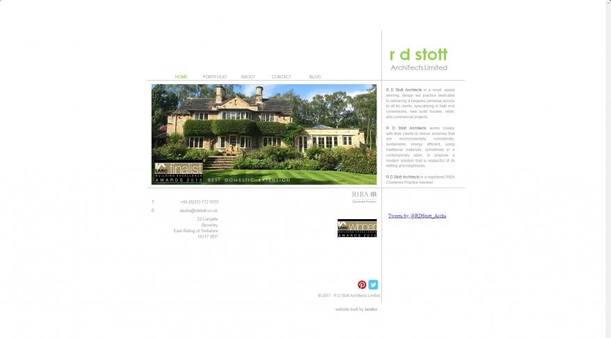 R D Stott Architects | Architecture | Yorkshire | Leeds | Beverley