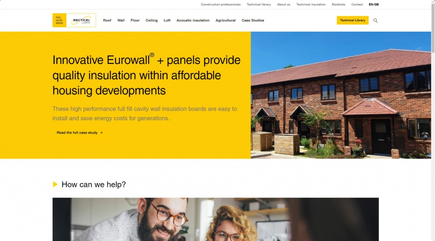 Home | Recticel Insulation