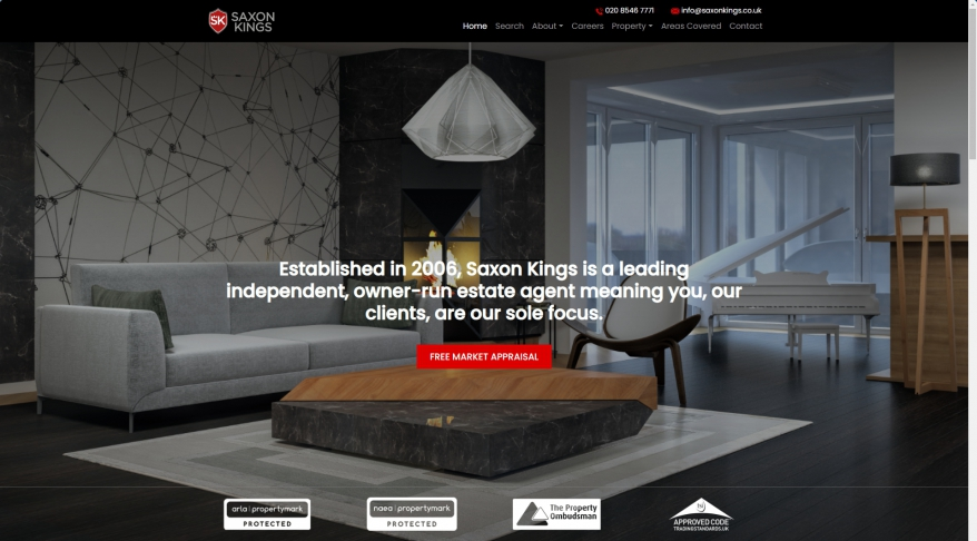 Saxon Kings | Estate agents in Surrey | Home
