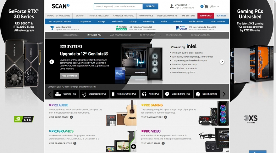 SCAN UK | PC components and online computer shop