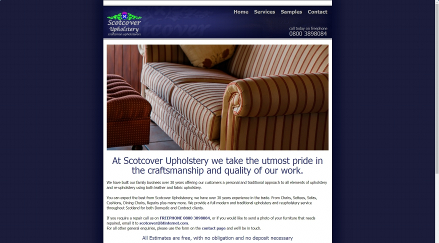 ScotCover Reupholstery