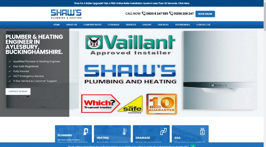 Shaw's plumbing and heating