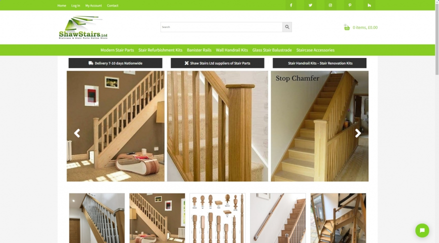 Axxys Stair Parts Ranges  Fusion Stairs