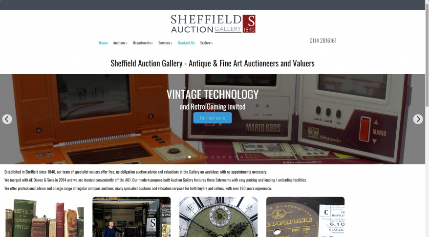 Sheffield Auction Gallery