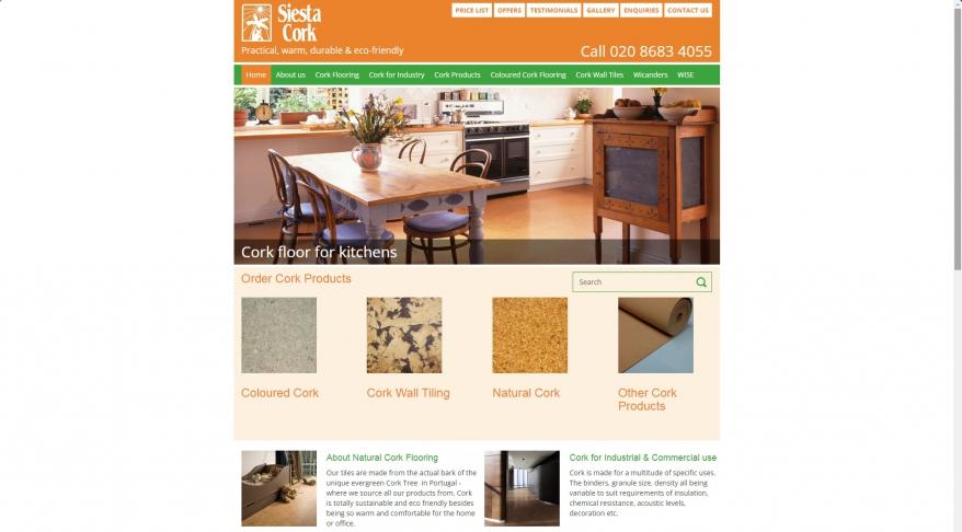 Siesta Cork Tile