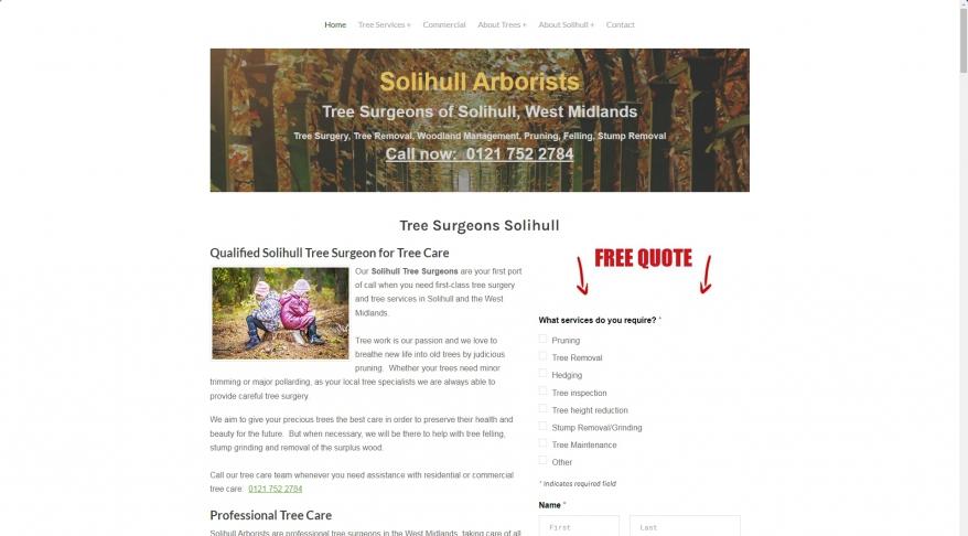 Tree Surgeons Solihull