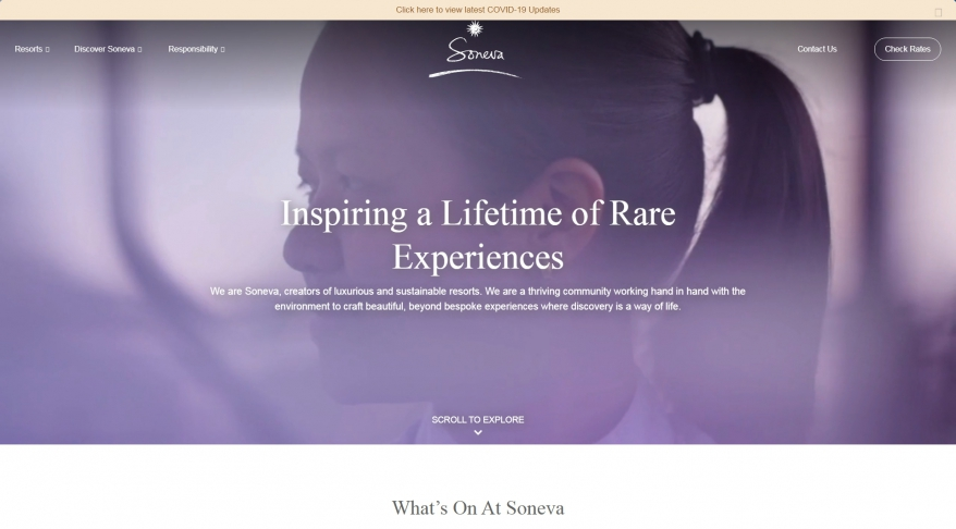 Soneva | Inspiring a lifetime of rare experiences | Maldives and Thailand | Official Site