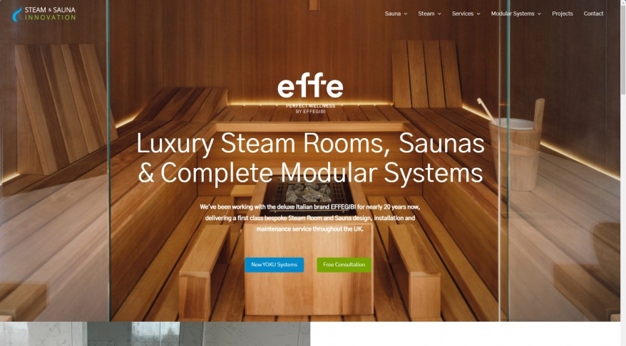 Steam and Sauna Innovation