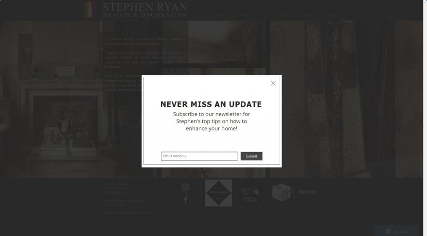 Stephen Ryan Design & Decoration