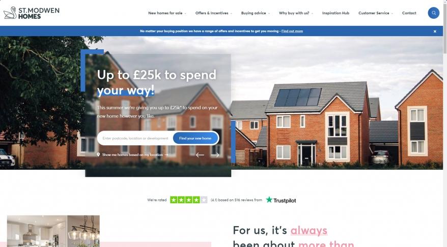 New Build Homes & Developments   St Modwen Homes