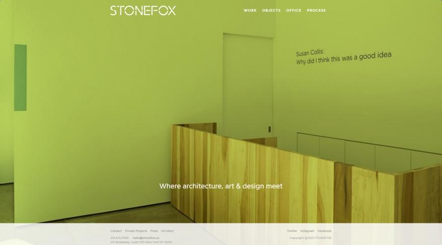 STONEFOX | Architecture Interior Design Art