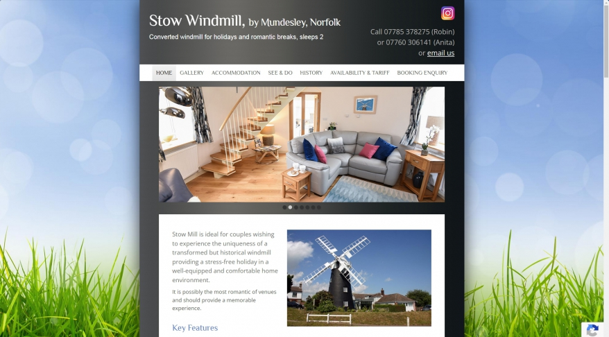 Stow Windmill Holiday Cottage, by Mundesley, Norfolk