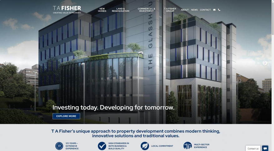 T A Fisher | Investing • Developing • Collaborating in Property
