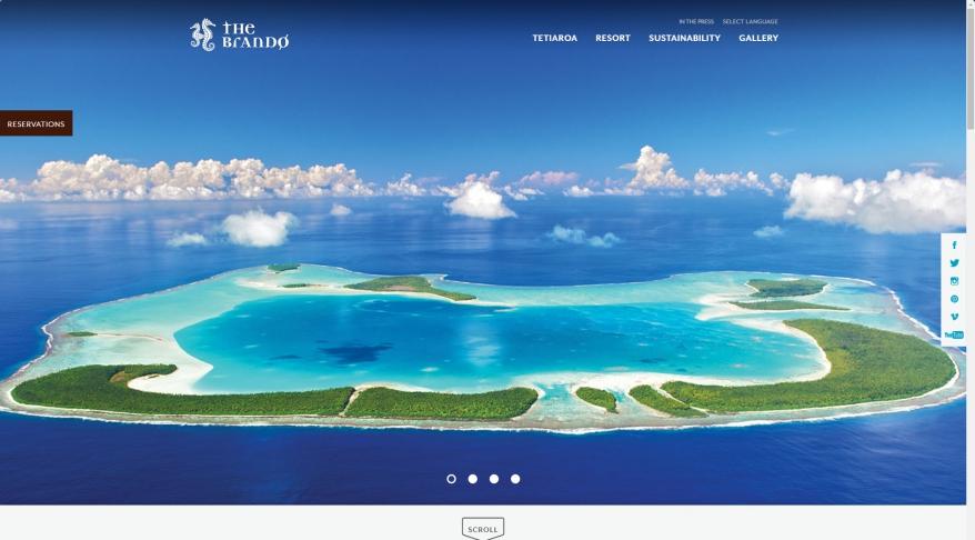 Luxury Resort in French Polynesia - Home | The Brando