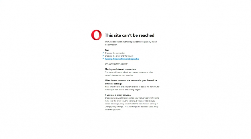 The London Homeware Company