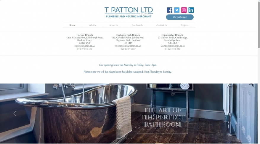 T Patton Ltd