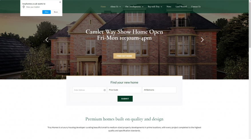 Troy Homes