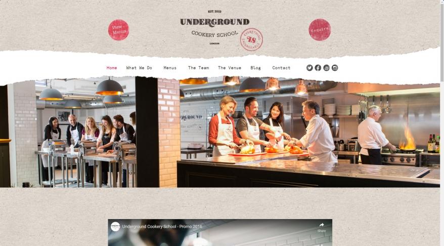 The Underground Cookery School