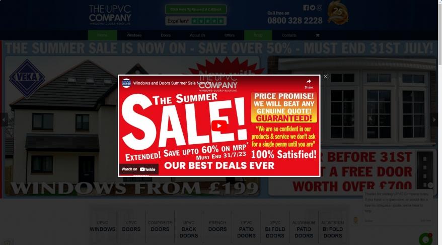 The UPVC Door Company