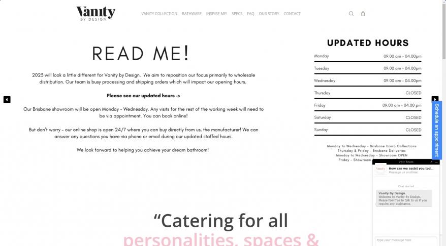 Vanity By Design