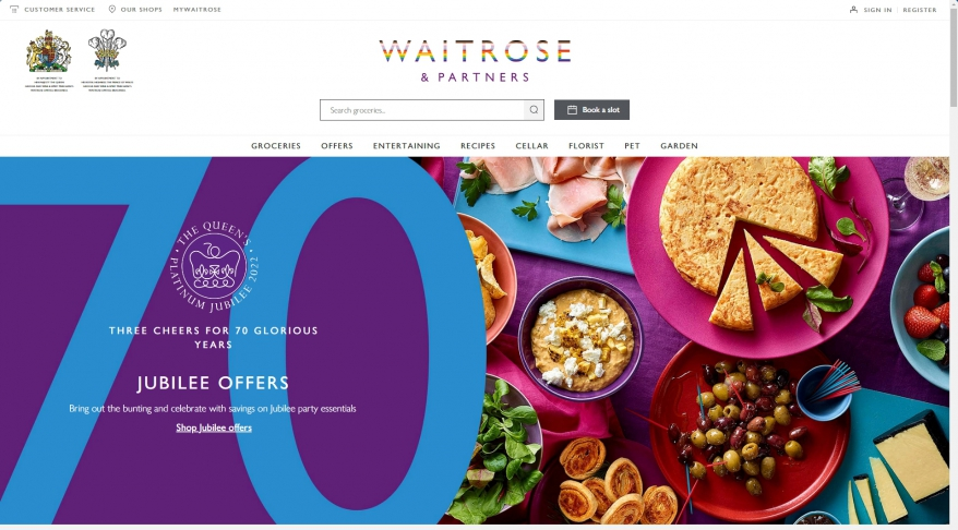 Waitrose - Online Grocery Shopping | Free Delivery | Recipes | Wine | Party Food