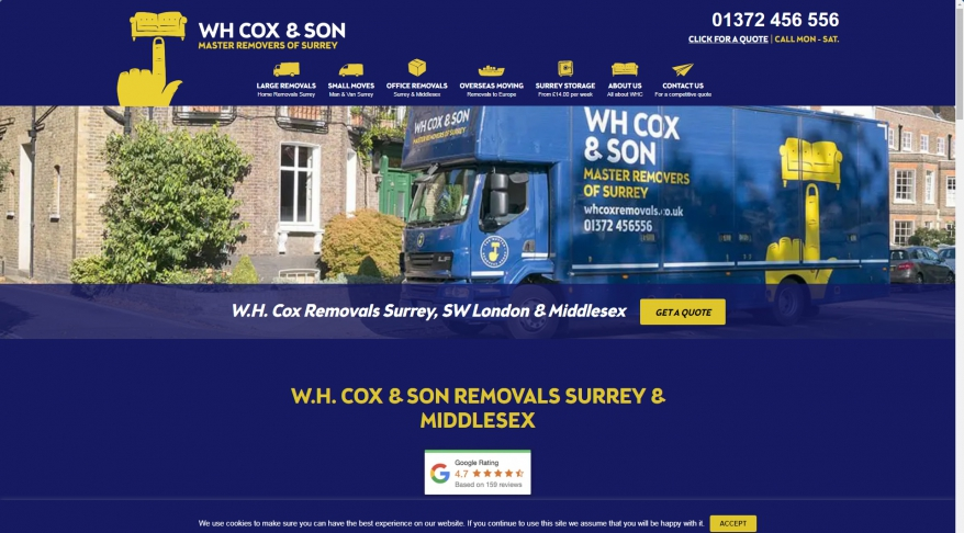 W H Cox & Son Removals