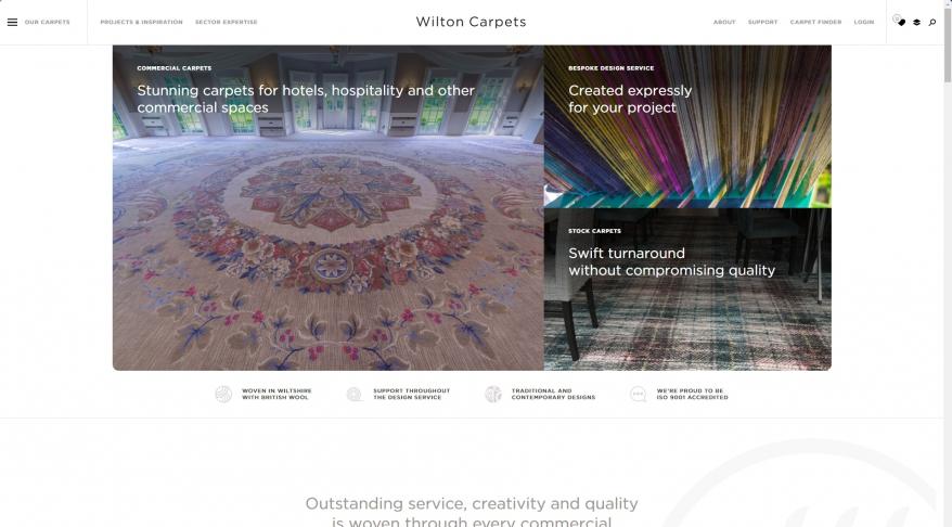 Wilton Carpets – Commercial