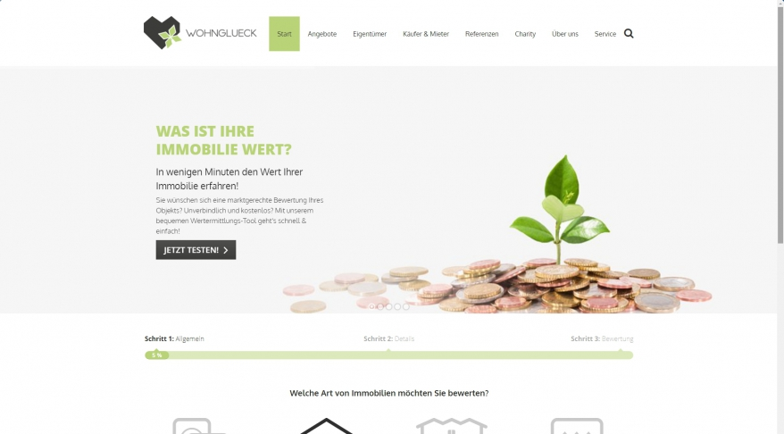 WOHNGLUECK GmbH (Immobilienmakler)