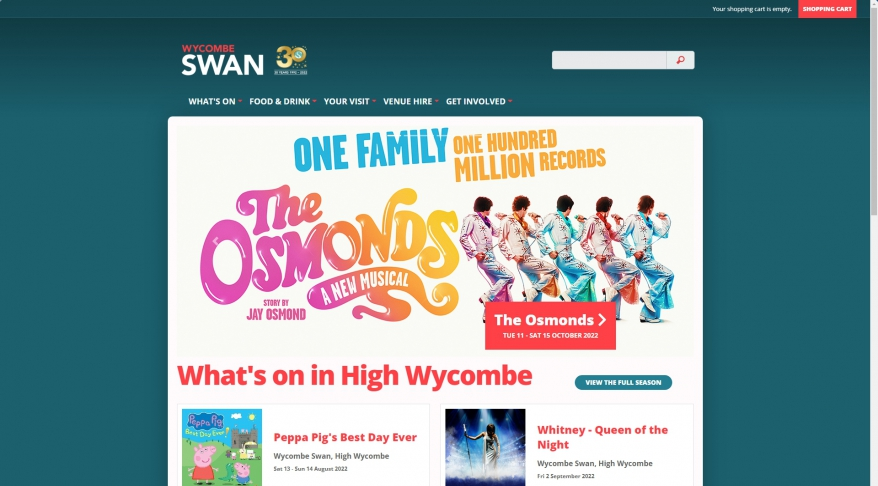 Wycombe Swan | High Wycombe | Theatre and Old Town Hall