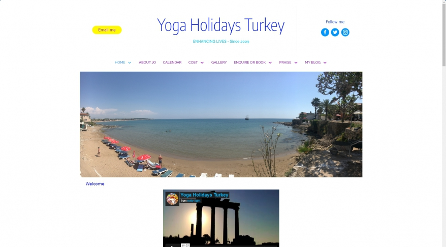 Yoga Holidays Turkey
