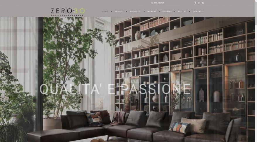 Arredamenti Torino • Zero30 Arredamenti - Via San Quintino 6, Torino