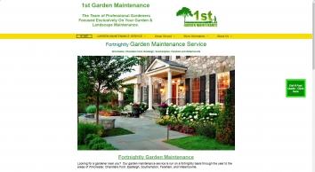 1St Garden Maintenance Ltd