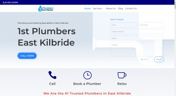 1st Plumbers East Kilbride   No Call Out Charge
