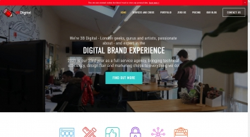 3B Digital Ltd. – DIGITAL TRANSFORMATION done right - London\'s leading Digital Marketing agency
