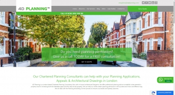 4D Planning - Planning Applications and Architecture Drawing
