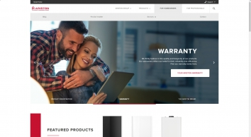 Ariston UK Official Site | Condensing Boiler Hot Water Heaters